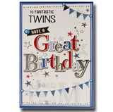 19cm - To Fantastic Twins Have A Great ... - BGC