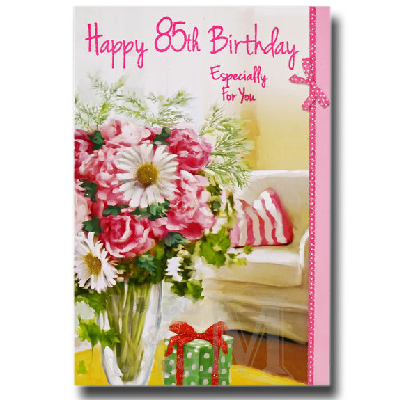 85th Birthday Greetings Cards