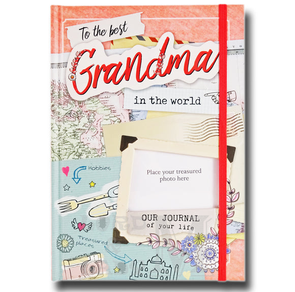 To The Best Grandma In The World - Our Life Journal - Ideal Mother's Day Gift