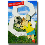 19cm - Today You're 8 - Football - E