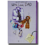 19cm - On Father's Day With Love, Dad - Shirt - E