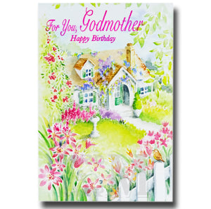19cm - For You, Godmother - House Green Door - E
