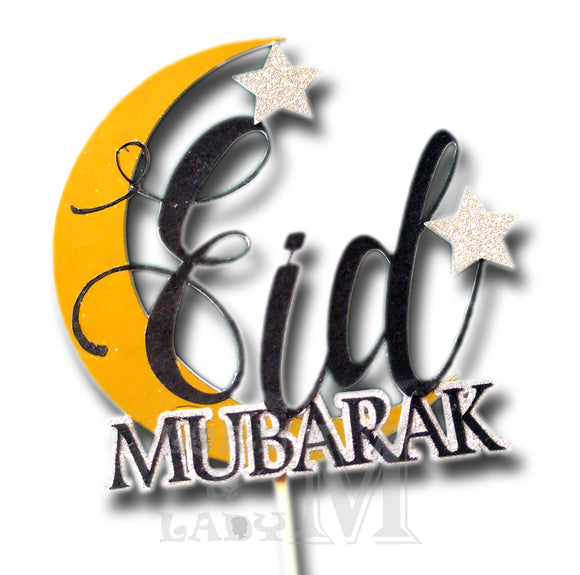 Eid Mubarak - Themed Cake Topper