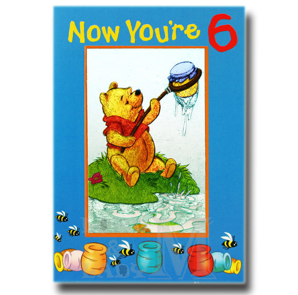 19cm - Now You're 6 - Winnie The Pooh - P
