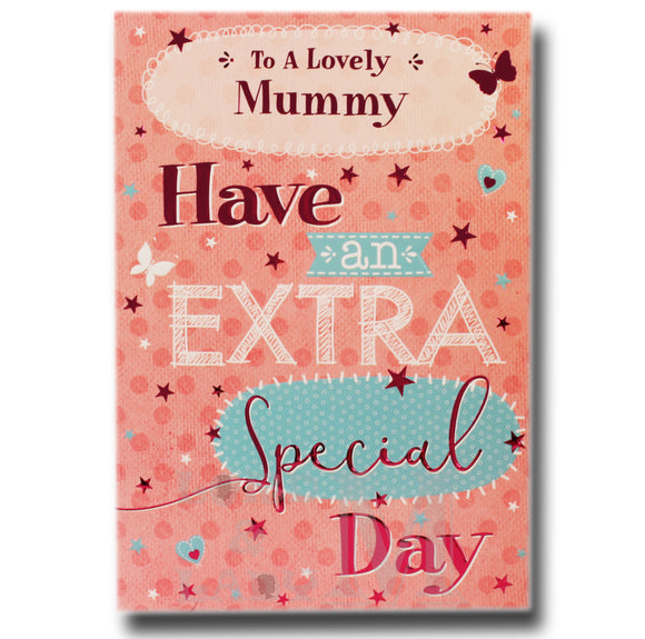 19cm - To A Lovely Mummy Have An Extra .. - BGC
