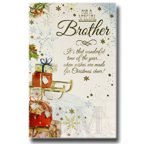 21cm - For A Special Brother It's That ... - OH
