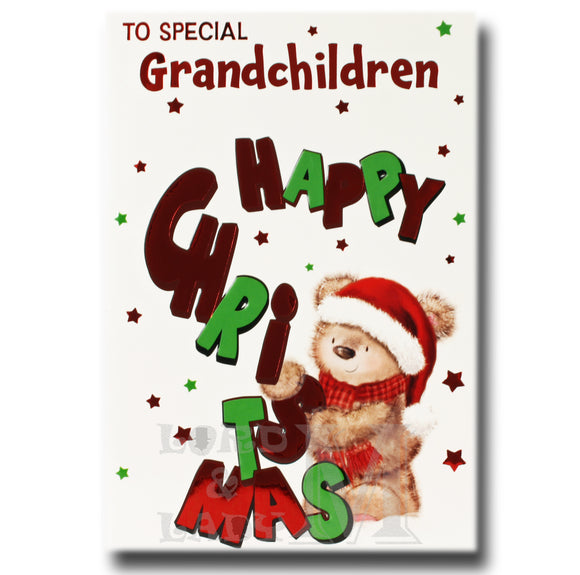 19cm - To Special Grandchildren Happy ... - BGC