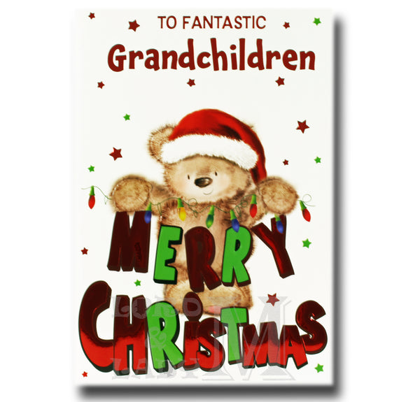 19cm - To Fantastic Grandchildren Merry ... - BGC