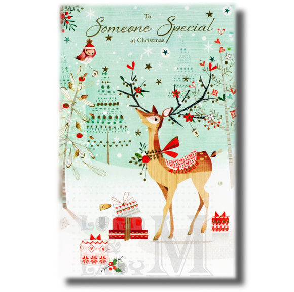 21cm - To Someone Special At Christmas - Deer - OH