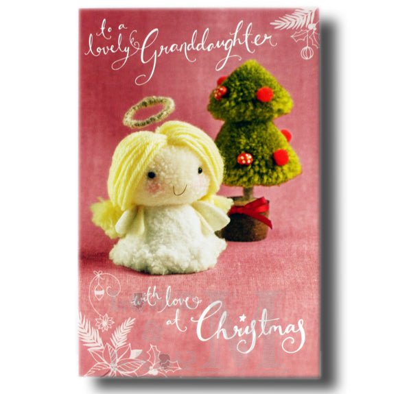 21cm - To A Lovely Granddaughter - Angel Tree - OH