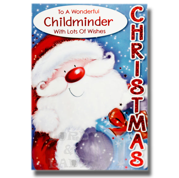 19cm - To A Wonderful Childminder With Lots - BGC