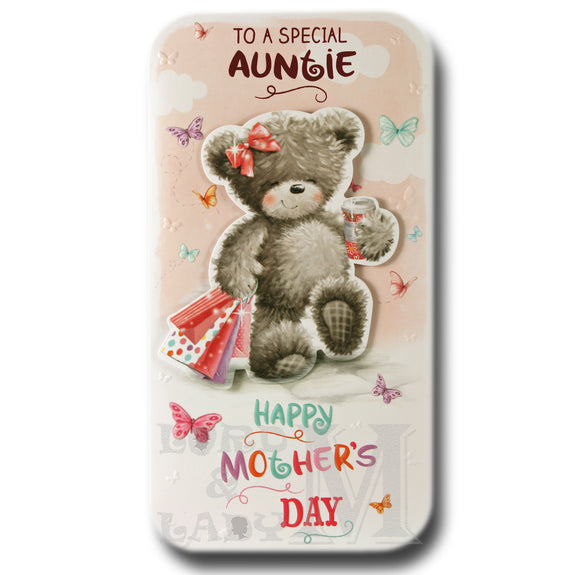 23cm - To A Special Auntie Happy Mother's Day -BGC
