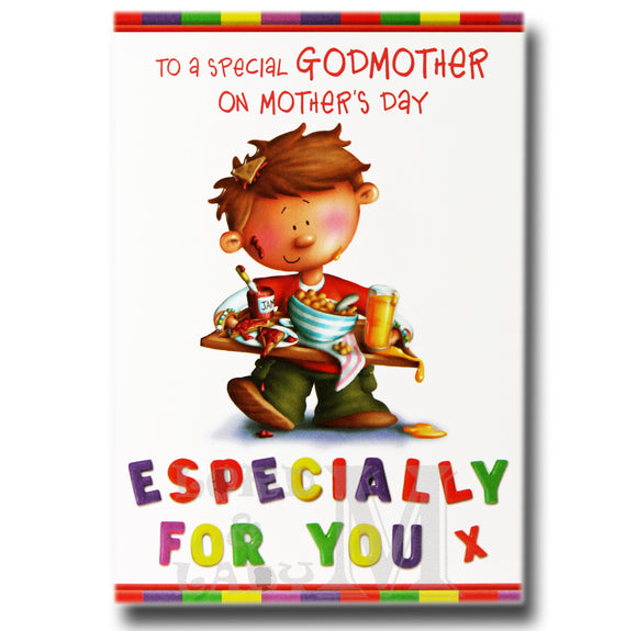 19cm - To A Special Godmother On ... - Boy - BGC