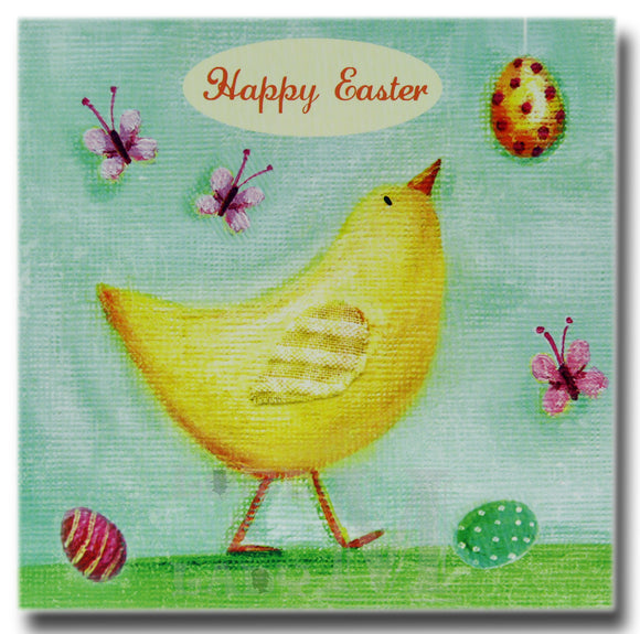 13cm - Happy Easter - Chicken Eggs