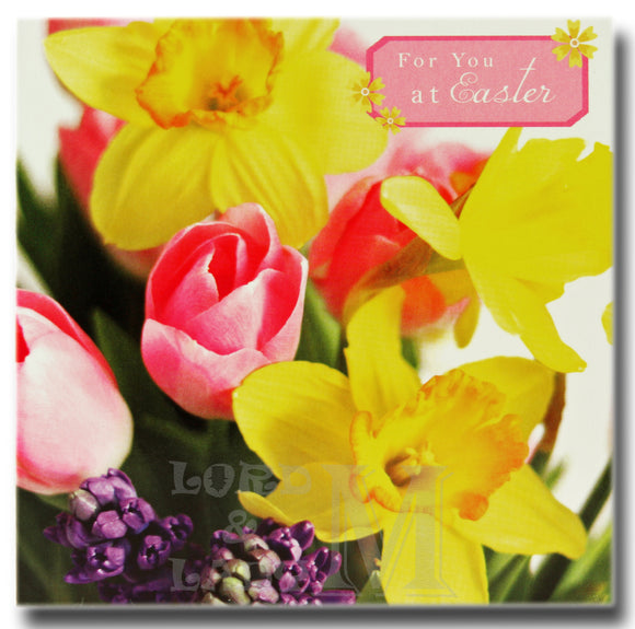 13cm - For You At Easter - Daffodils And Others