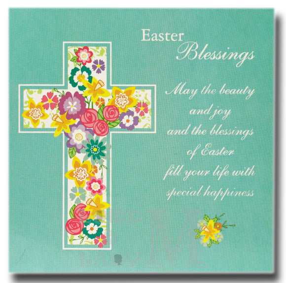 13cm - Easter Blessings May The Beauty And Joy ...