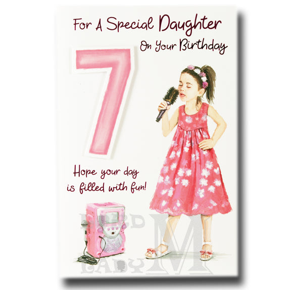 23cm - For A Special Daughter On Your Birthday -BG