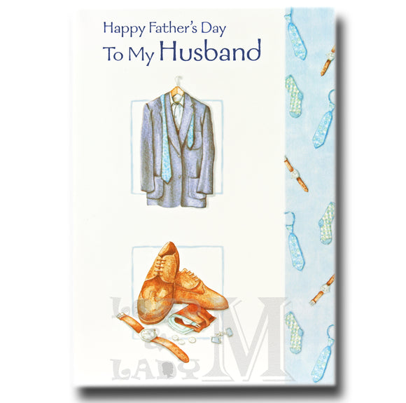 19cm - Happy Father's Day Husband - Suit - DGC