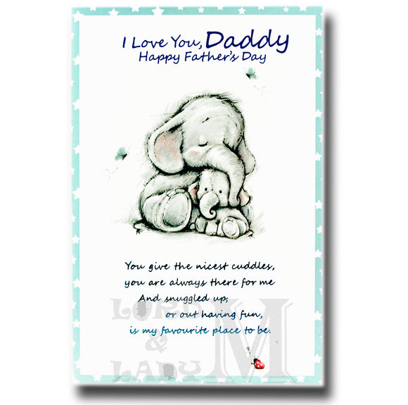 20cm - I Love You, Daddy - Elephants - DGC