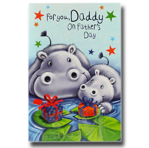 20cm - For You, Daddy On Father's ..- Hippos - DGC