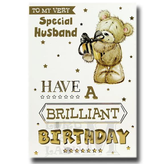 19cm - To My Very Special Husband Have A Brilliant - BGC