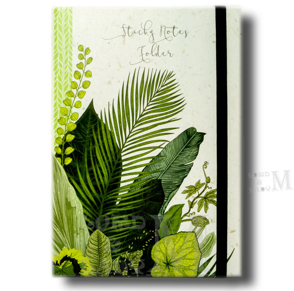 Botanicals Sticky Folder - Sticky Notes Memo Pad