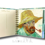 Van Gogh Square Address And Birthday Book - Perfect Gift