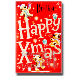 27cm - Brother Happy Xmas - Large Letter