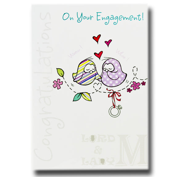 17cm - On Your Engagement - 2 Birds