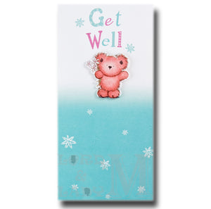 24cm - Get Well - Large Letter