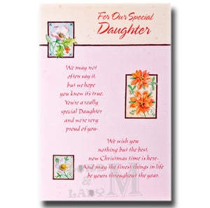 20cm - For Our Special Daughter - CWH