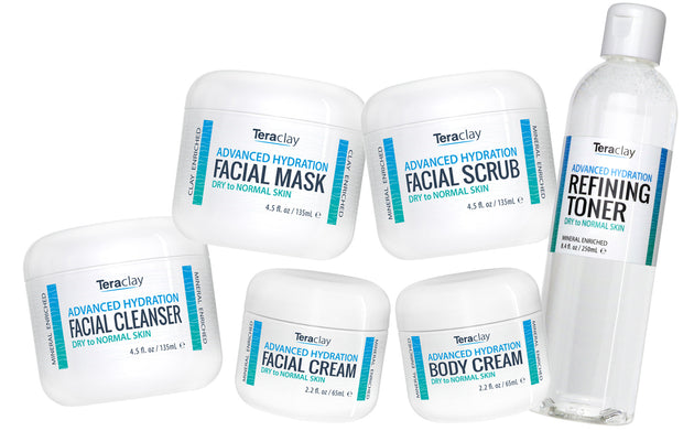 Advanced Hydration</br>6-Piece Skincare Set