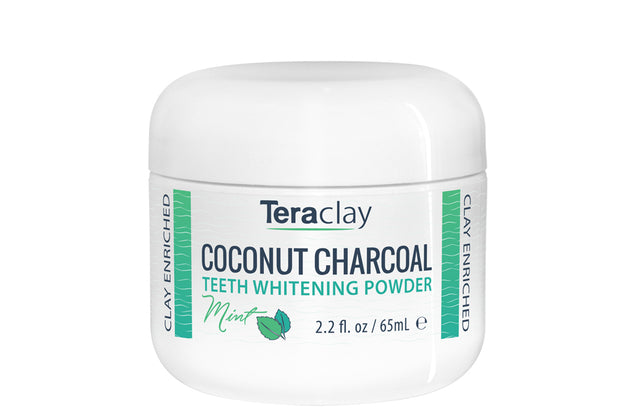 Coconut Charcoal Teeth Whitening Powder - Mint