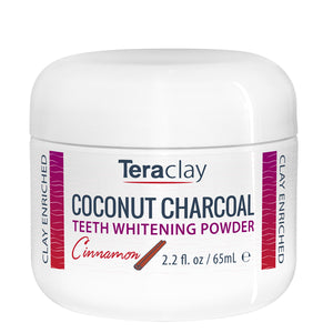 Coconut Charcoal Teeth Whitening Powder - Cinnamon