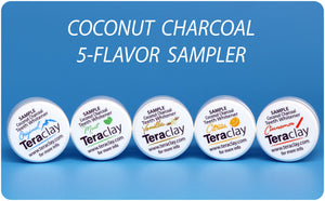 Coconut Charcoal 5-Piece Sample Set