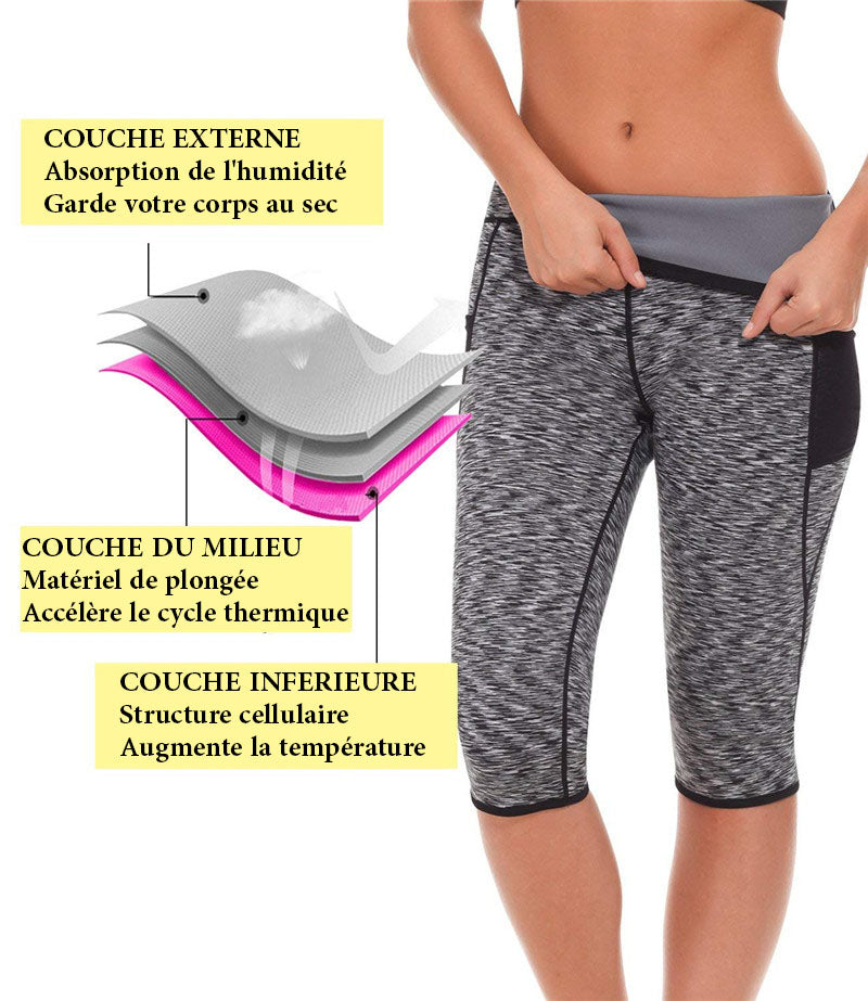 bermuda de sudation contre la cellulite