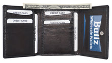 Trifold Mens Wallet 14BK-DISC(Pack of 6pcs)