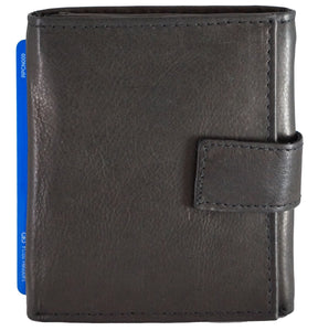 Trifold Mens Wallet 15BK-DISC (Pack of 6)
