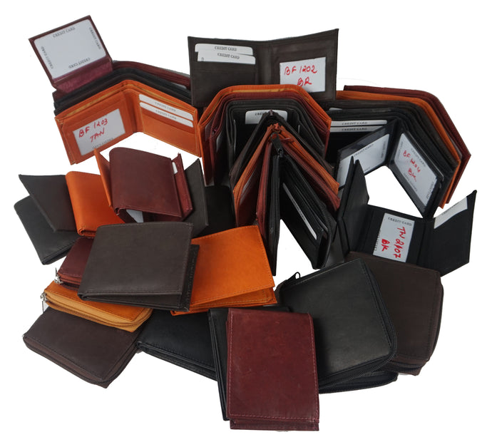 Bifold-Trifold Assorted Wallet ASS100