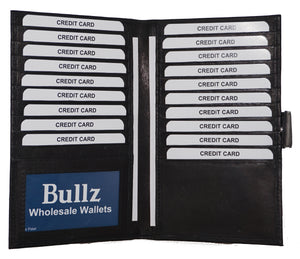 Long credit card holder 1181-BK