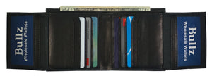 Bifold Mens Wallets RF15688-BK