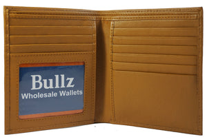 Texan Bull RFID Signal Blocking Hipster Mens Wallet TXB-RF 155