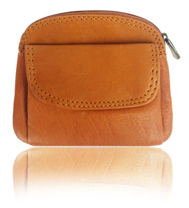 Texan Bull® Genuine Leather Coin Purse EL-16