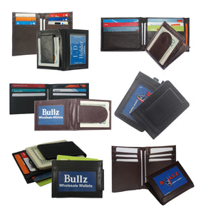 Assorted Money clip Wallet MC-ASSRT