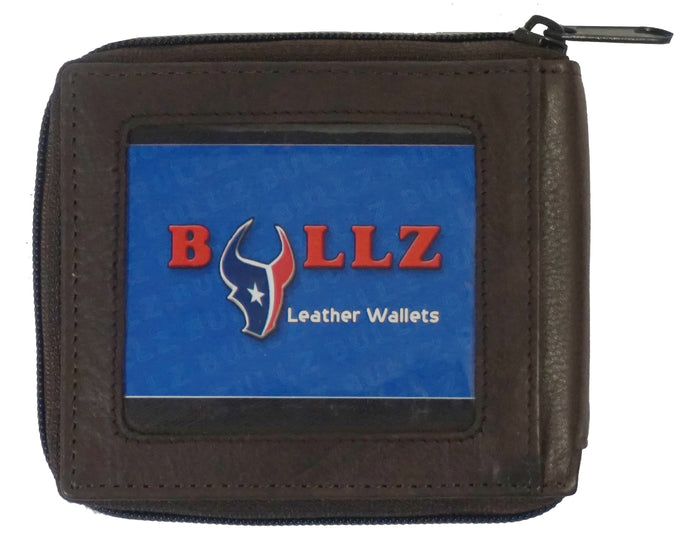 RFID Zipper Mens Wallet RF5102