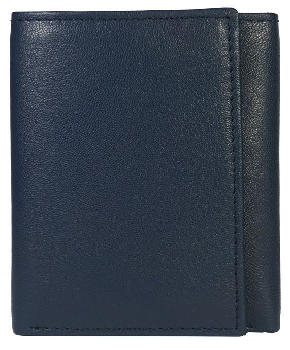 Trifold Mens Wallet TR11-BL