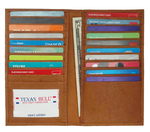 Texan Bull®Long credit card holder TXB-RF108