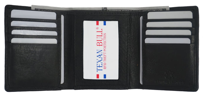Texan Bull® RFID Mens Wallet RF2101