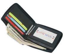 Texan Bull® RFID Zipper Mens Wallet RF5104