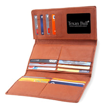 Texan Bull® RFID Trifold Wallet for Women